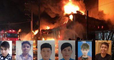 Xót xa đại tang: Ngọn lửa xứ người cướp đi vĩnh viễn 6 người con đất Việt