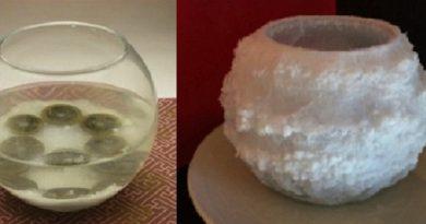 Trục xuất tà khí khỏi nhà bạn chỉ với 1 cốc nước muối, tại sao không?
