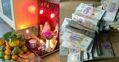 Đây là thời điểm CHÍNH XÁC NHẤT trong ngày cúng vía Thần Tài mồng 10 tháng Giêng để tiền bạc rủng rỉnh cả năm