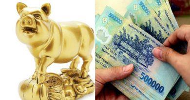 Trong tháng 2 âm lịch: Top con giáp THU TIỀN MỎI TAY, tài khoản ngân hàng tăng liên tục nhờ vận may tài lộc