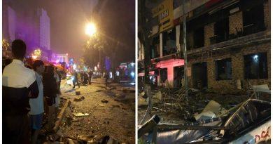 Nóng: Một tòa nhà hai tầng nổ như bom ngay giữa đêm, con số thương vong chưa thể xác định