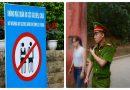 Hơn 100 người ăn mặc ph.ản c.ảm đã bị mời ra khỏi khu vực Đền Hùng